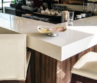 Markee Absolute Quartz Kitchen Countertop