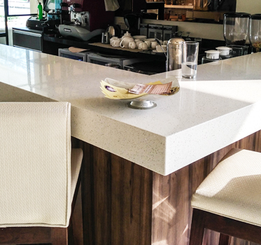 Markee Absolute Quartz Kitchen Countertop