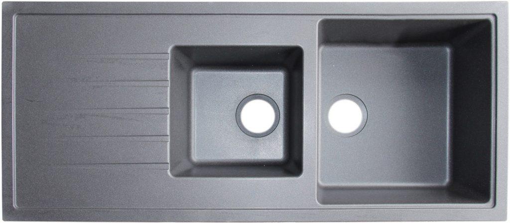 Venatto Double Bowl with drainboard