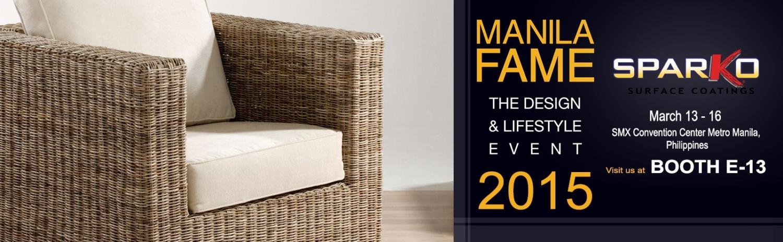 Sparko Surface Coatings takes part at manila fame 2015
