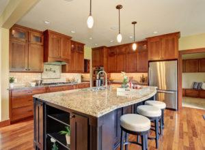 modern kitchen countertop