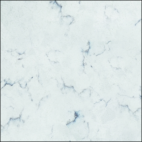 Markee Absolute Quartz Solid Surface New White Clouds
