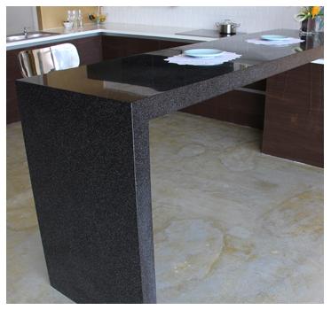 KNEX Modular Kitchen Solflex Solid Surface Bar Top