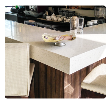Mrkee Absolute Quartz Solid Surface – a good choice for kitchen counters