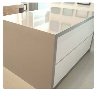 PRIME BY SOLFLEX KITCHEN COUNTERTOP GRAY PEARL