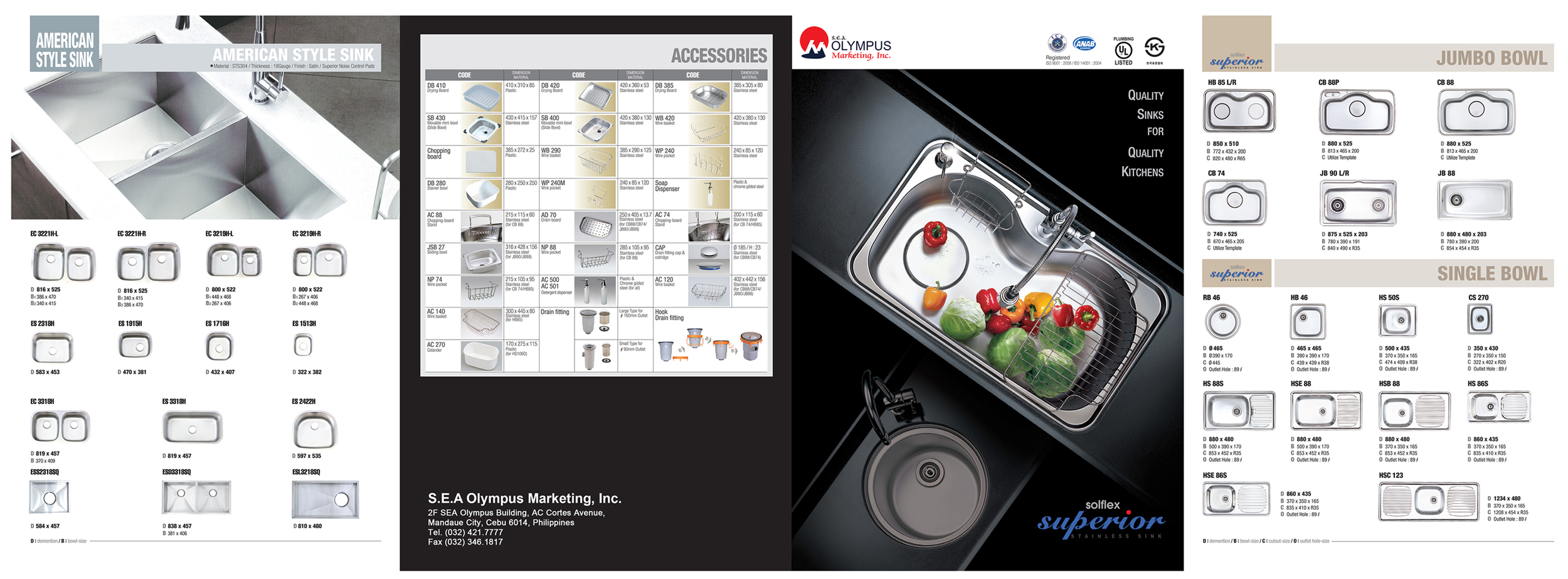 other superior stainless sink products