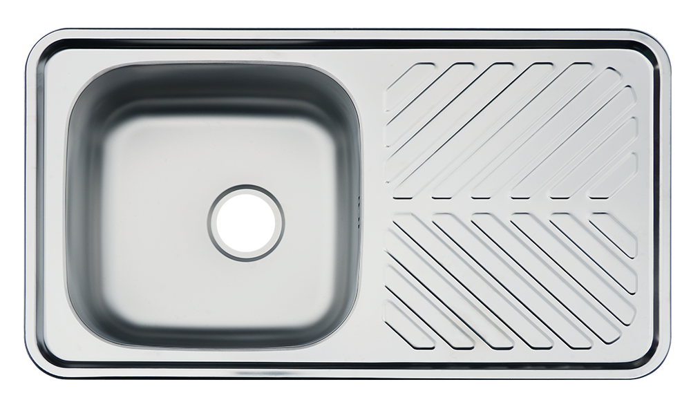 solflex superior stainless steel austere sink