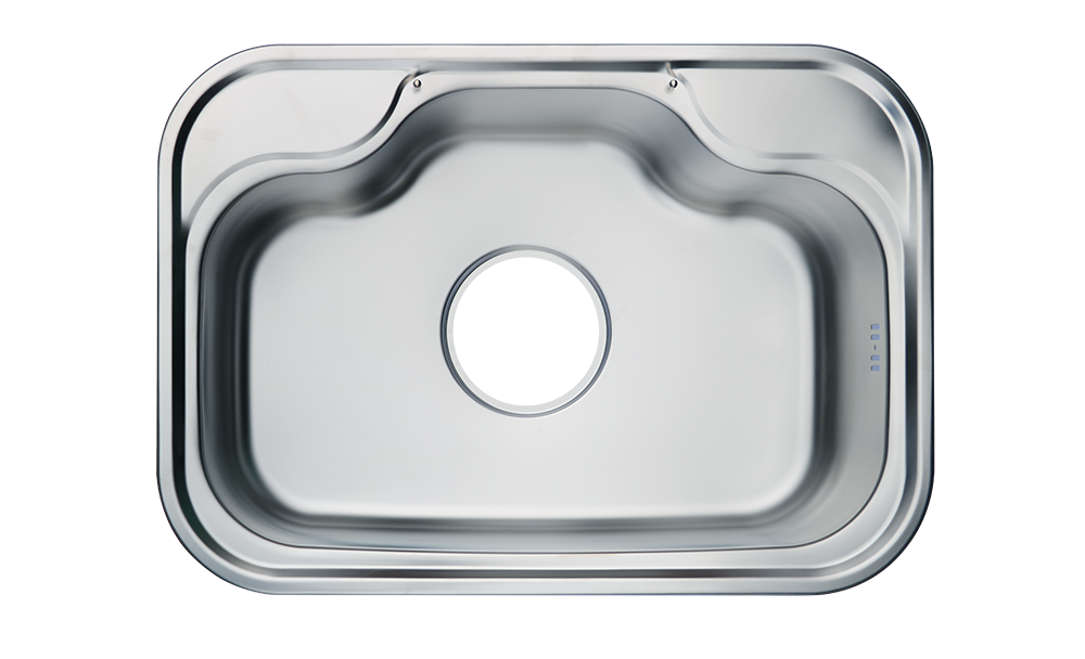 solflex superior stainless steel curve sink