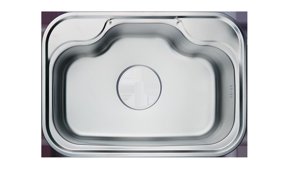 solflex superior stainless steel curve sink