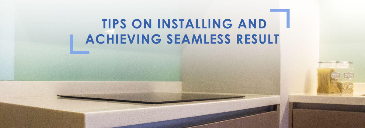 installation tips to achieve a seamless countertop