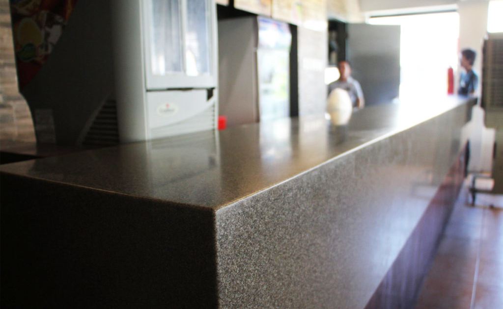 Solflex Solid Surface bar countertop
